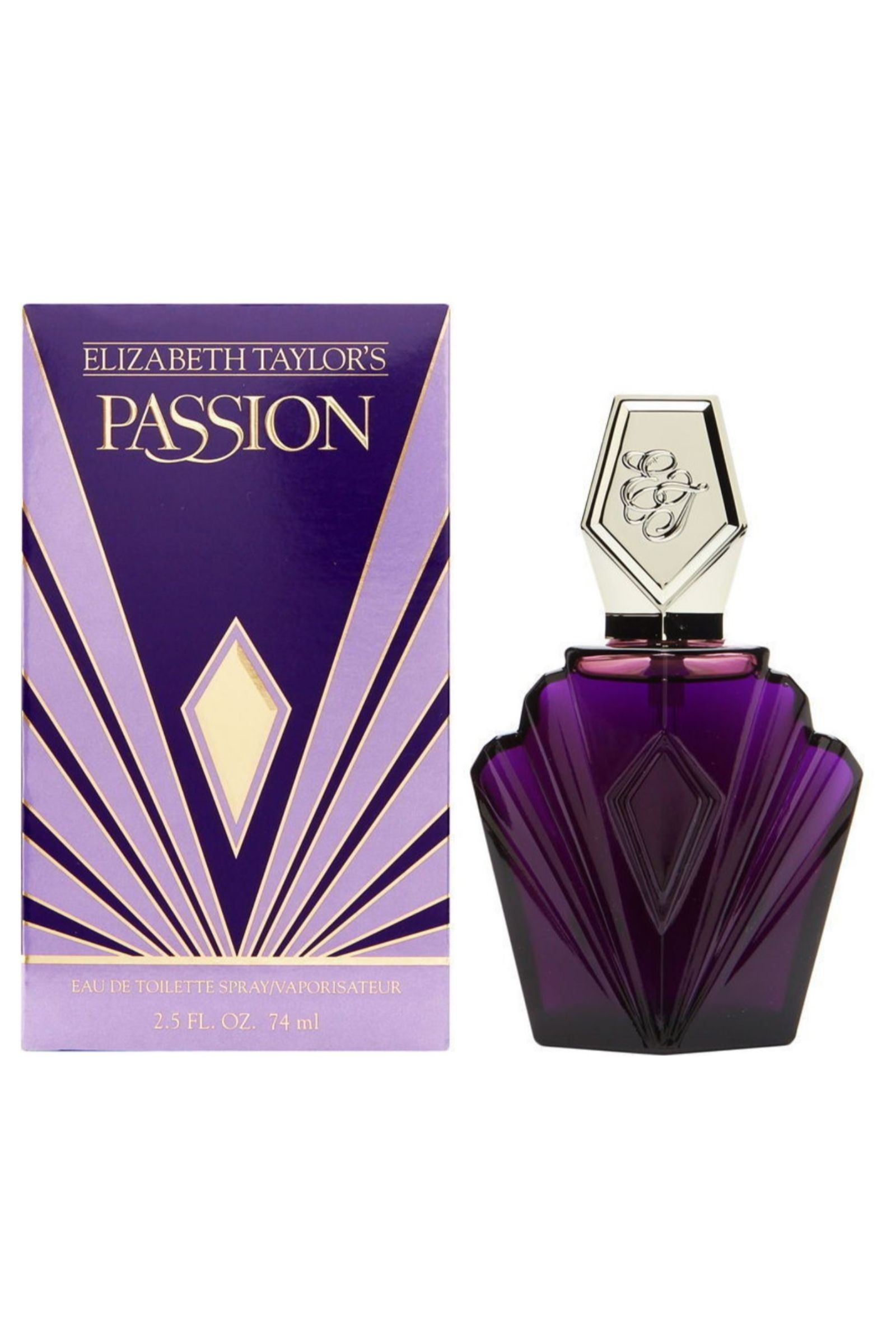 Detalles de Elizabeth Taylor Passion EDT Eau de Toilette Spray 74ml Mujer Fragancia
