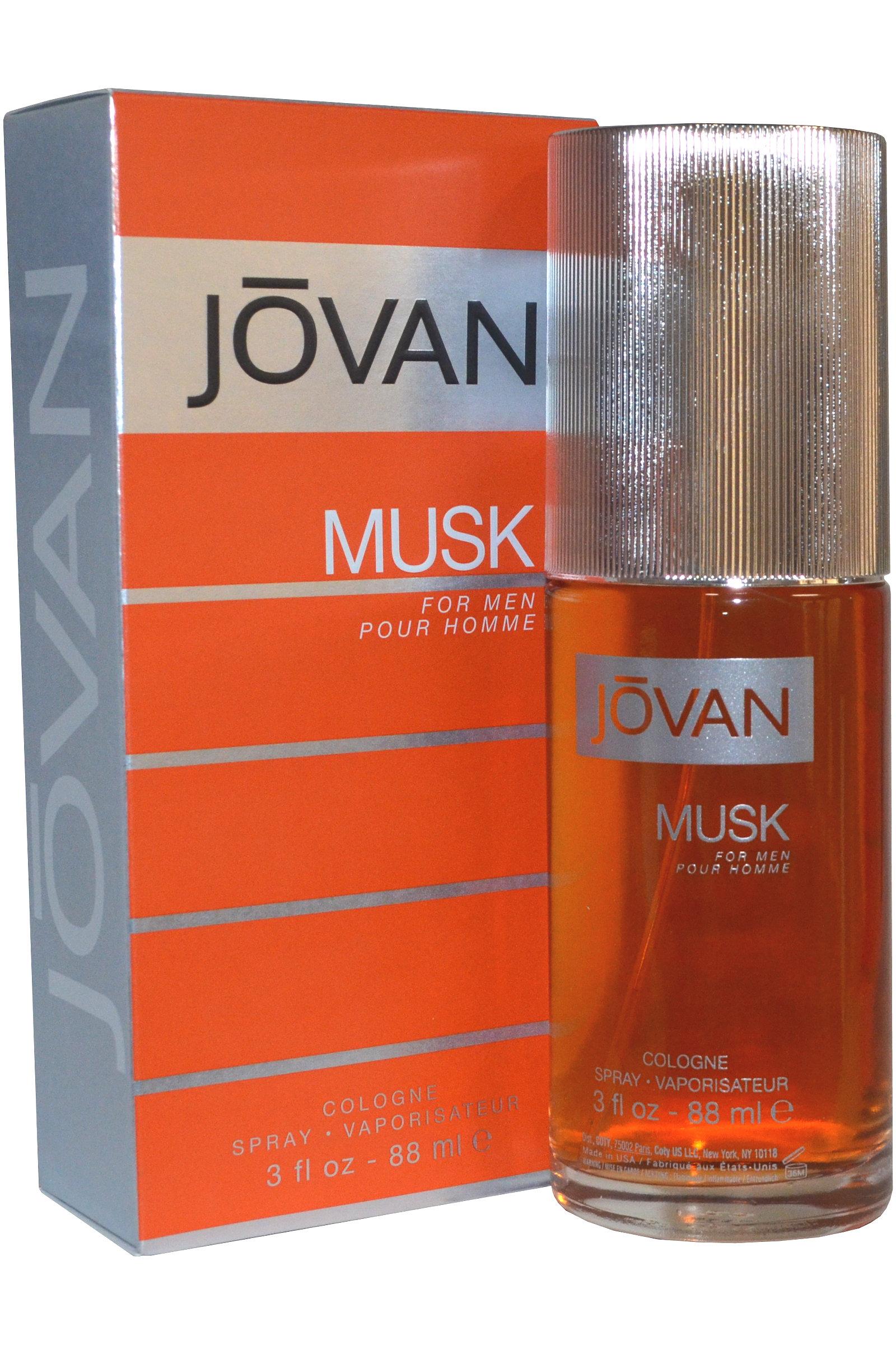 Detalles de Jovan Musk Para Hombres Colonia Spray 88ml Para Hombre Fragancia ver título original