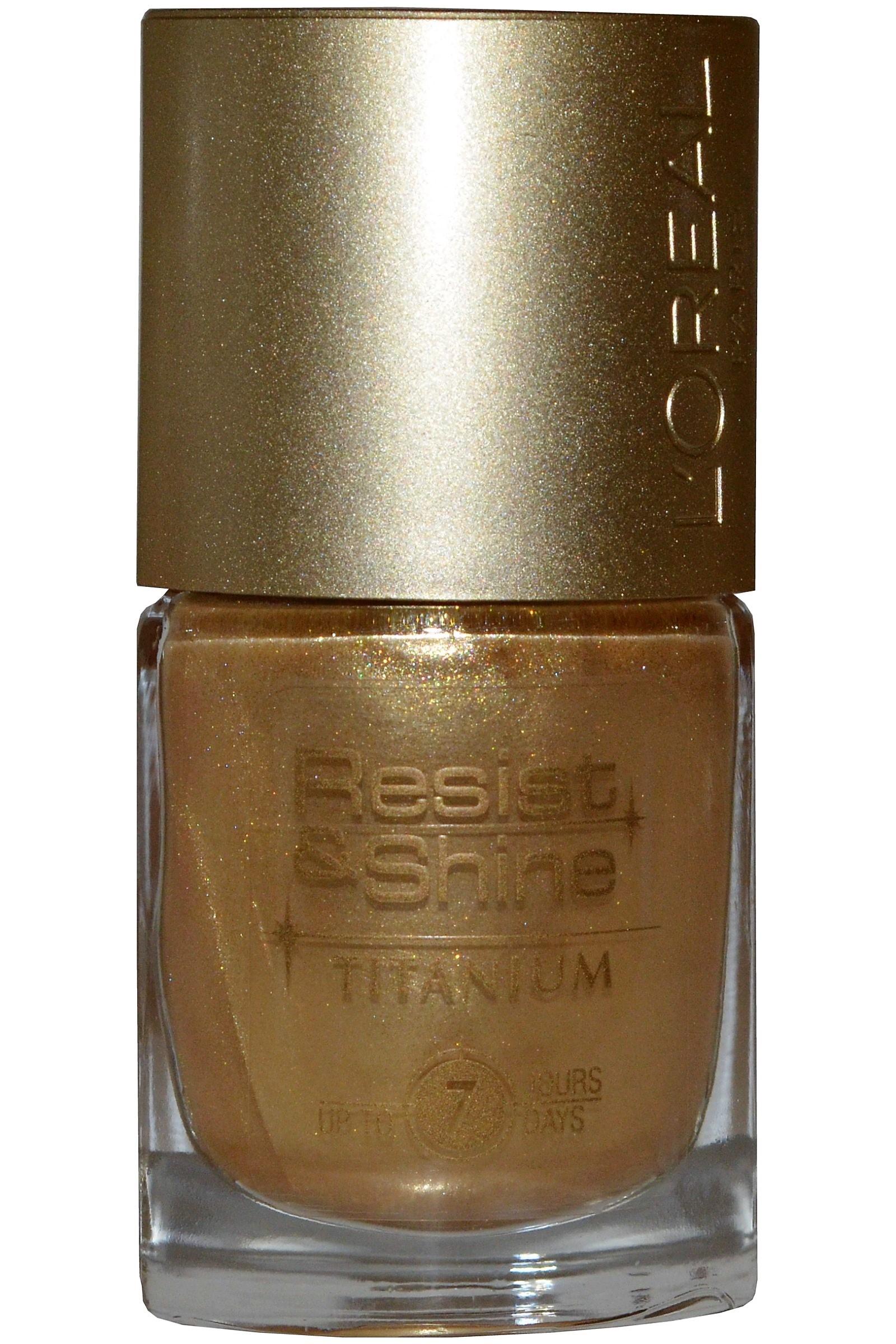 L Oreal Resist & Shine Titanium Nail Polish 9ml #738