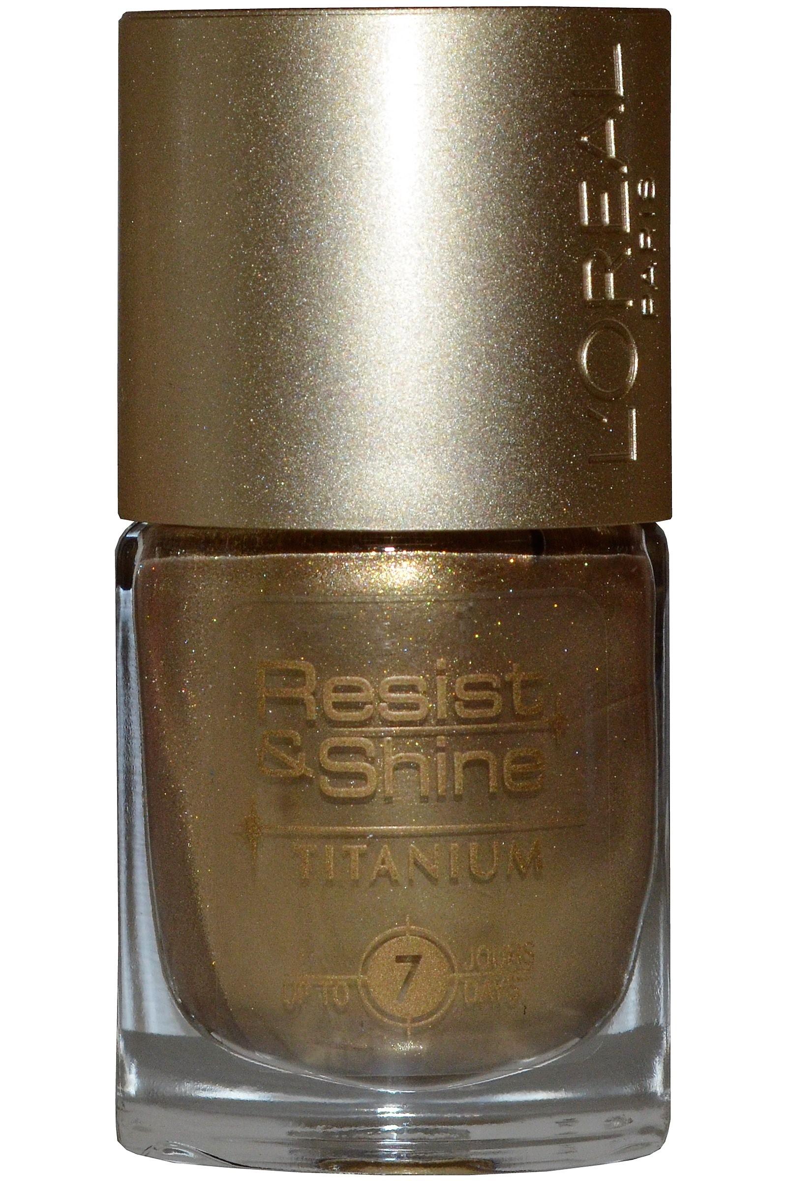 L Oreal Resist & Shine Titanium Nail Polish 9ml #739