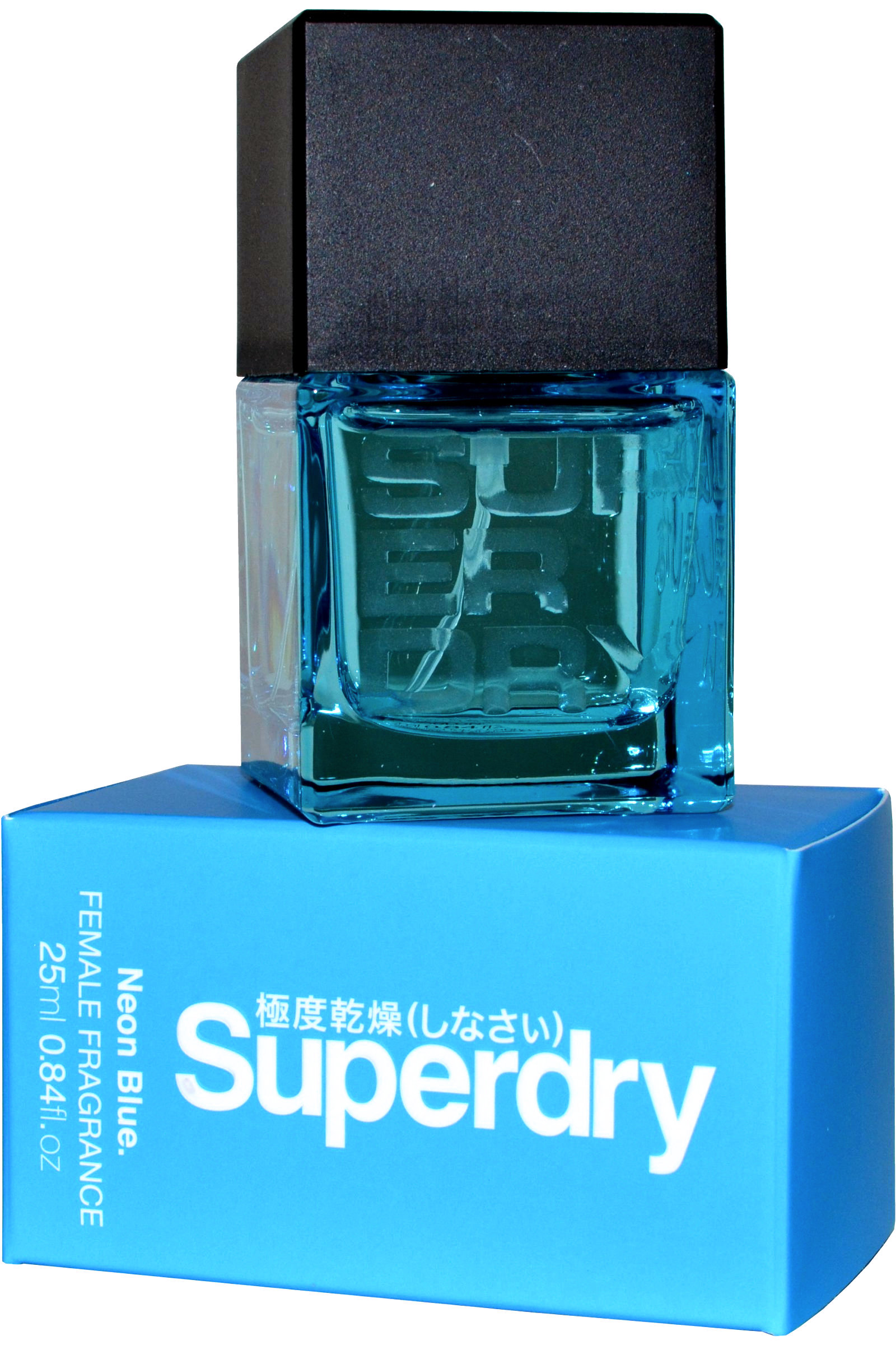 Superdry Neon Blue Female Fragrance Cologne Spray 25ml