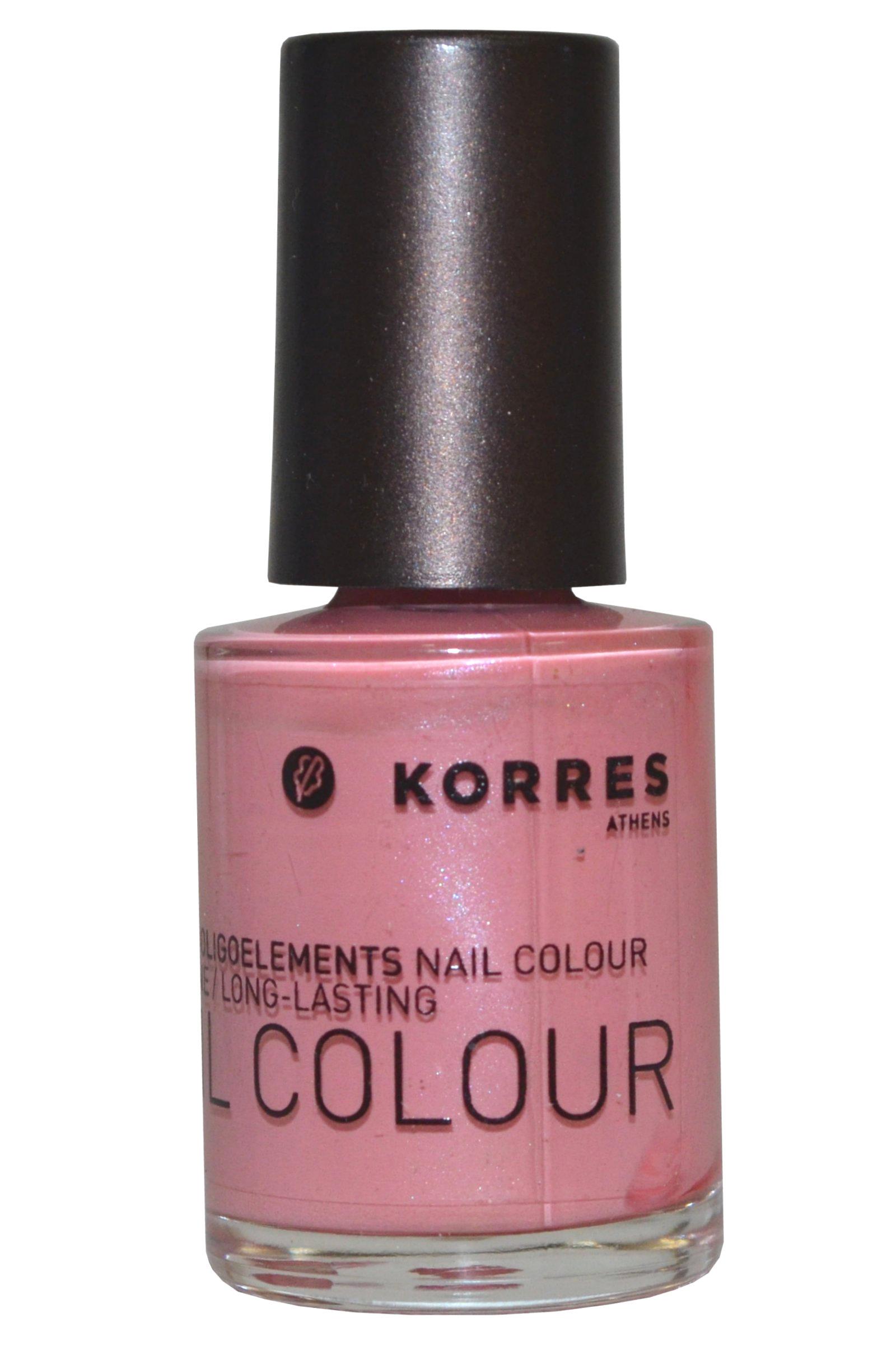 Korres Nail Color High Shine Long Lasting 10ml Sweet Pink (#13)