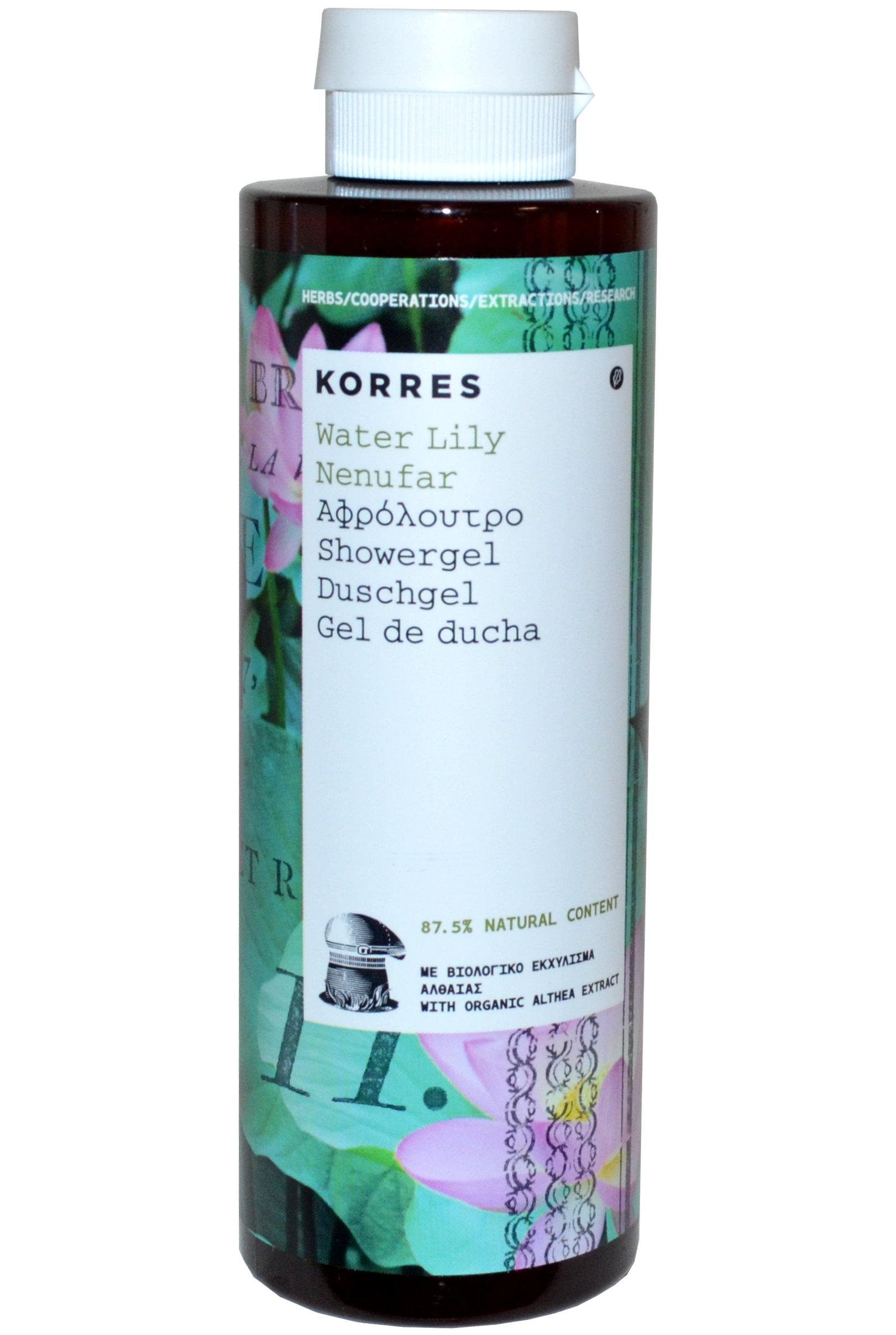 Korres Water Lily Shower Gel 250ml