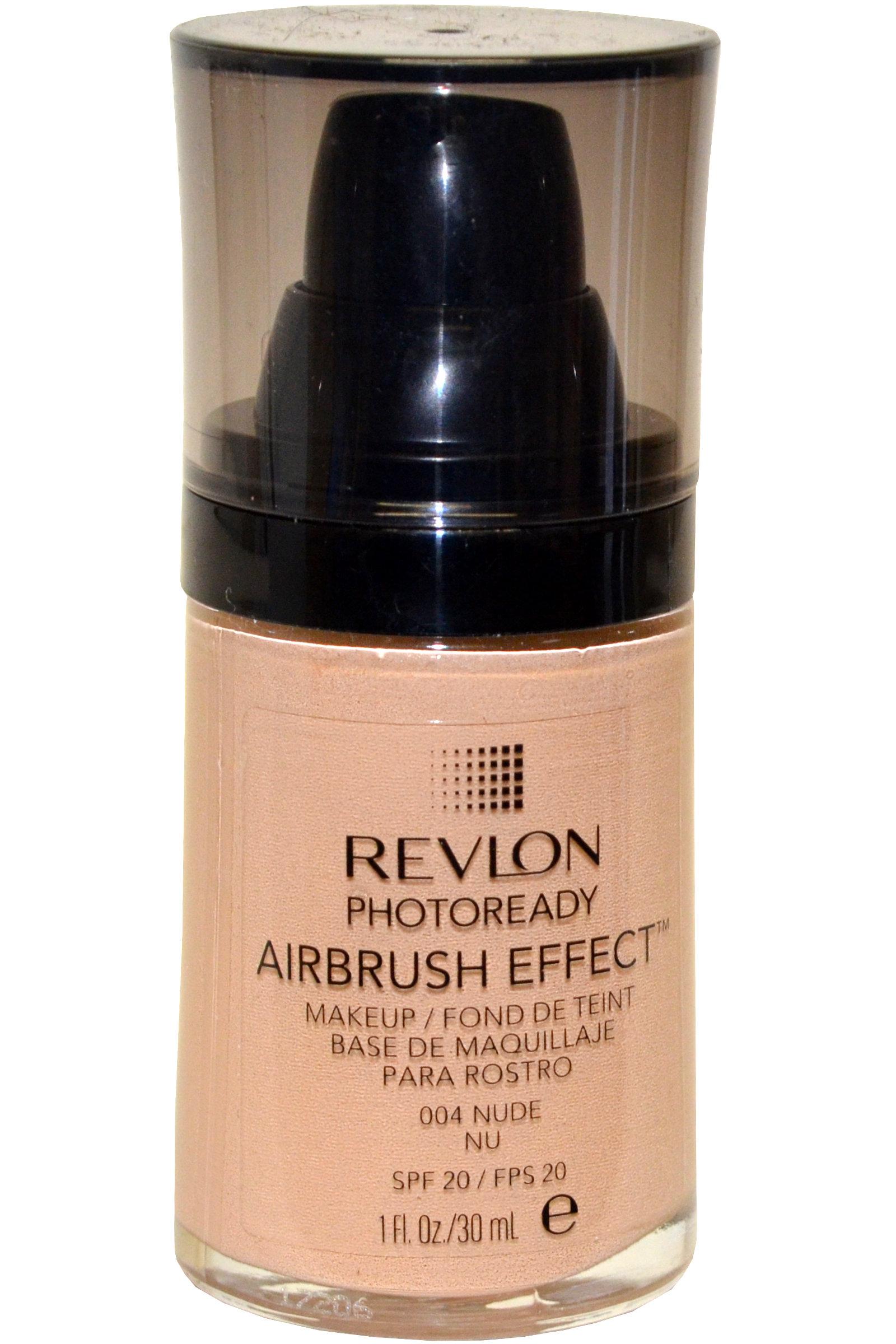 Revlon PhotoReady Airbrush Effect Makeup Nude 004 1 oz