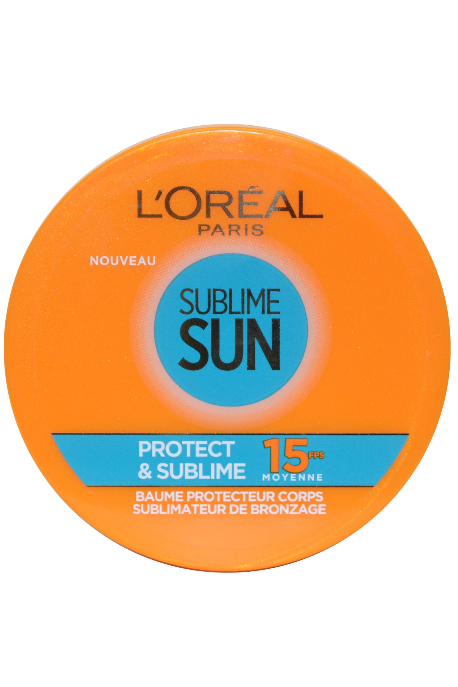 L Oreal Sublime Sun by L'Oreal Body Protect Balm Sublime Sun 100ml SPF15