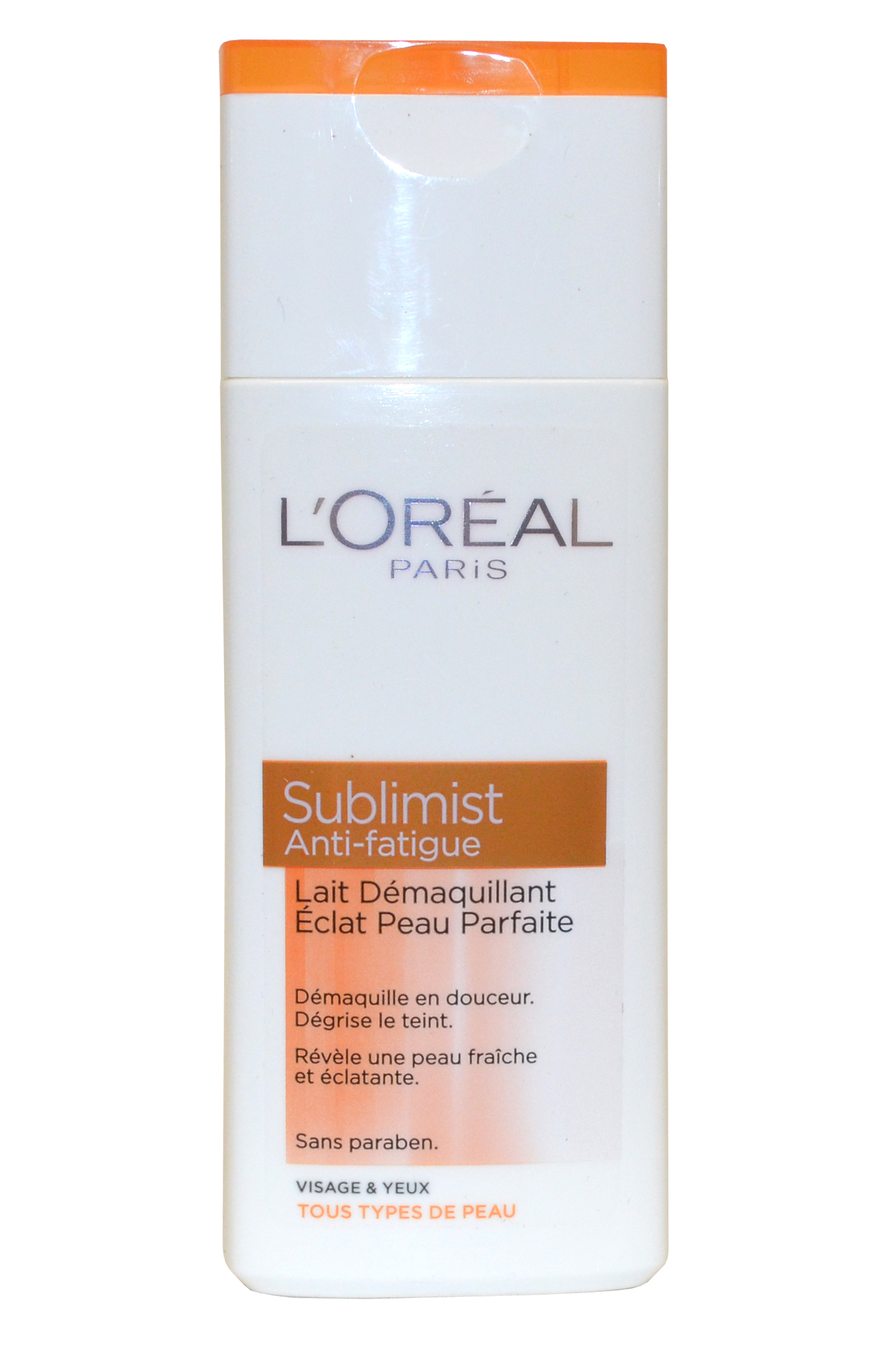 L Oreal Paris Sublimist by L'Oreal Cleansing Milk 200ml Face and Eyes All Skin Types