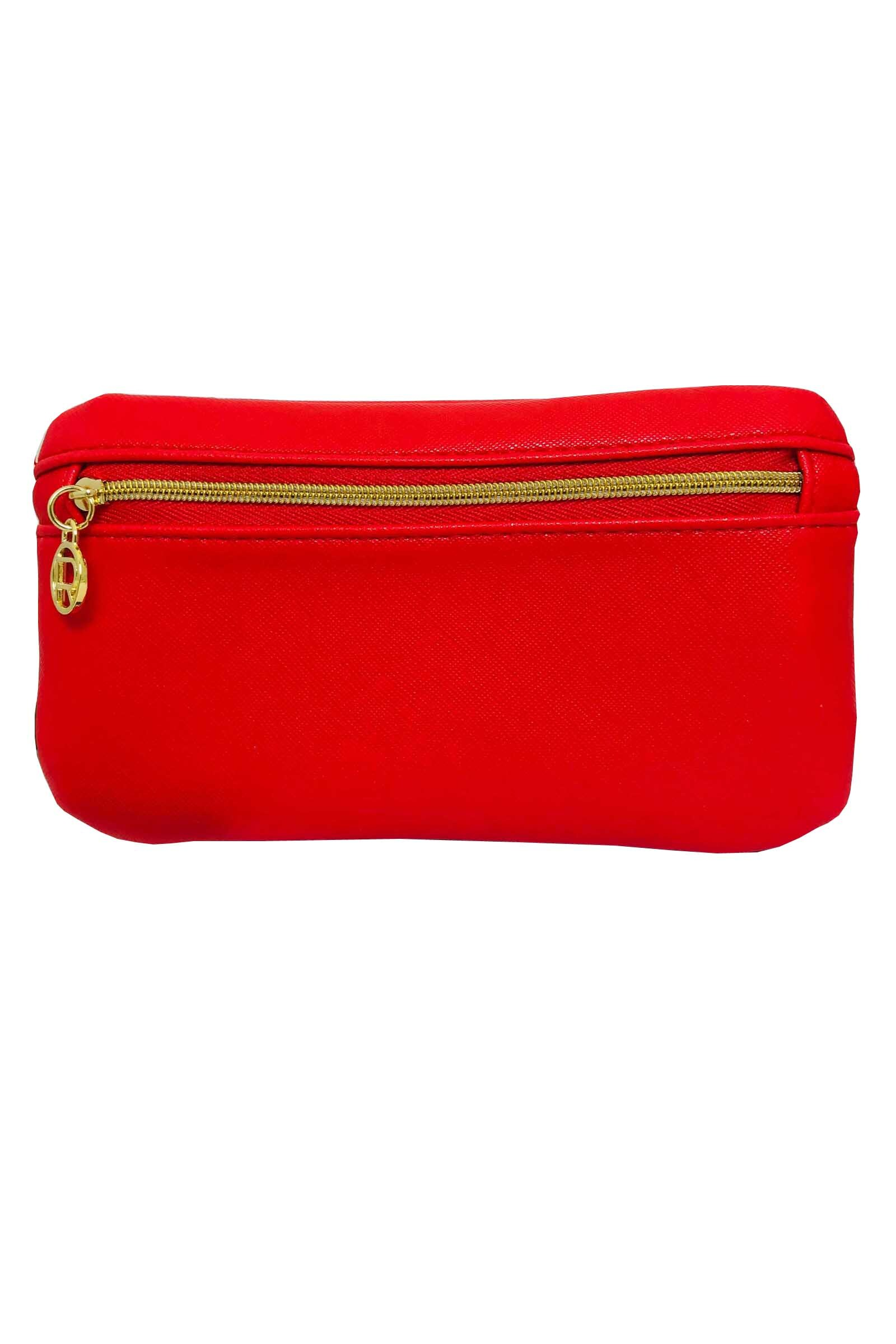L Oreal Make Up Pouch Small Red